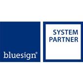 Nosso parceiro de sistema, Bluesign